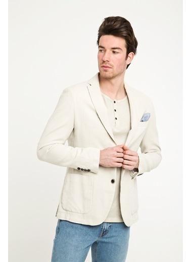 Kiğılı Ceket Bej